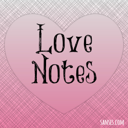 SANses.com's Love Notes