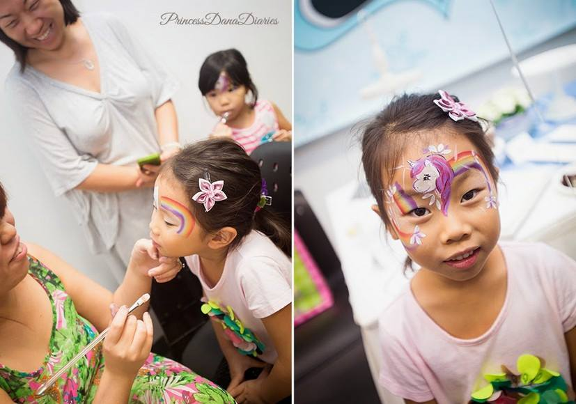 Little Poney Face Painting